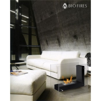 OUT OF STOCK - Ulysses Flame II Bio Ethanol Glass Fire