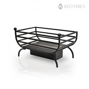 NEW - Hermes Bio Ethanol Grate in Traditional Style