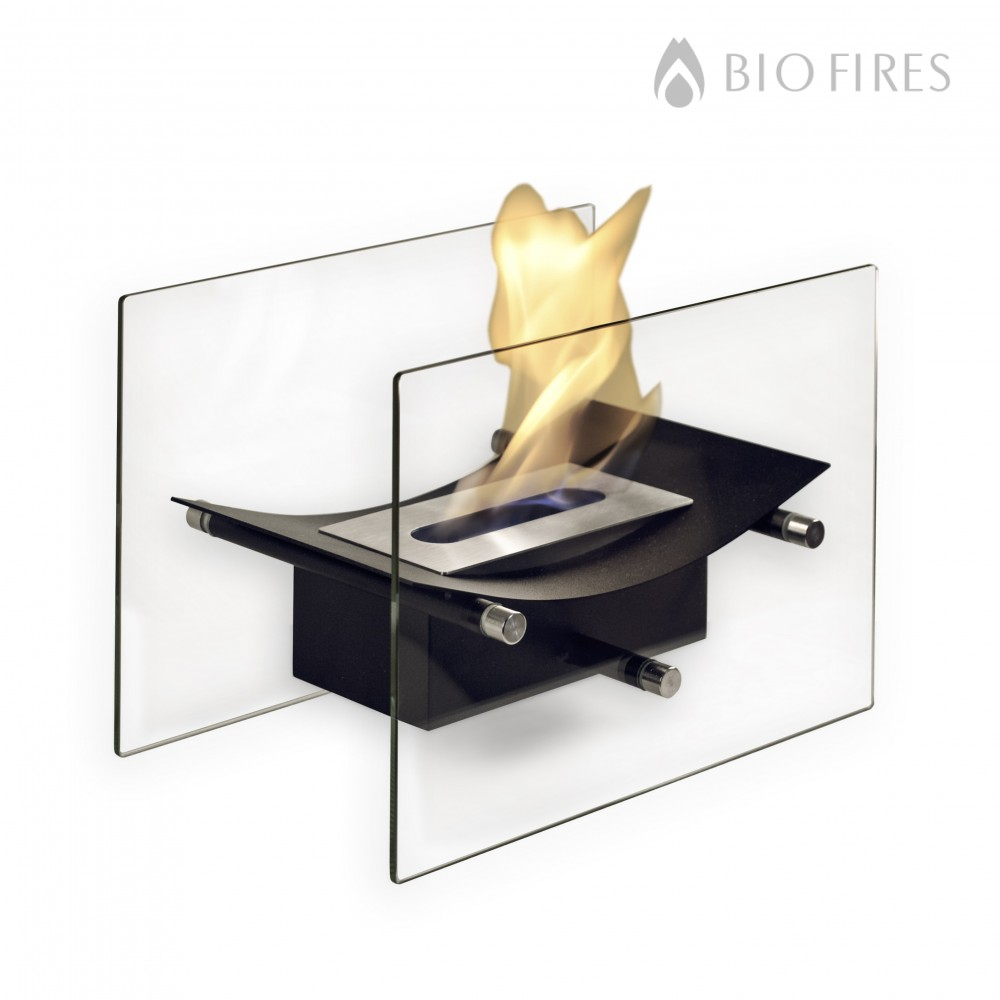 bow burner black portable table bio fireplace. Black Bedroom Furniture Sets. Home Design Ideas