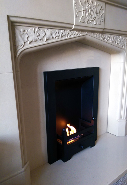 converting an old gas fireplace with a diy bio ethanol