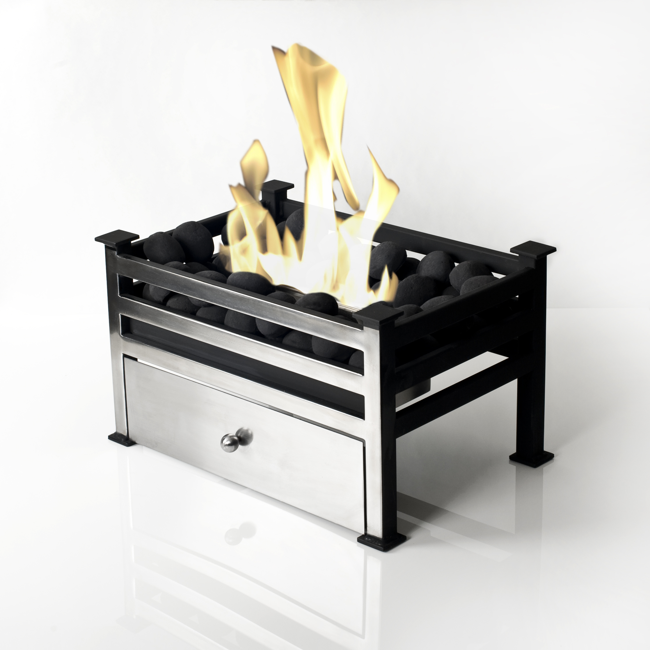 Traditional Bio Fire for a Project - Bio Fires (Gel Fireplaces Ltd.)