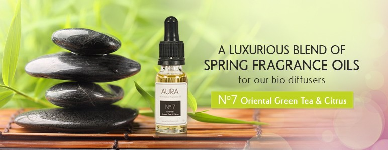 Oriental Green Tea & Citrus Aura Oil