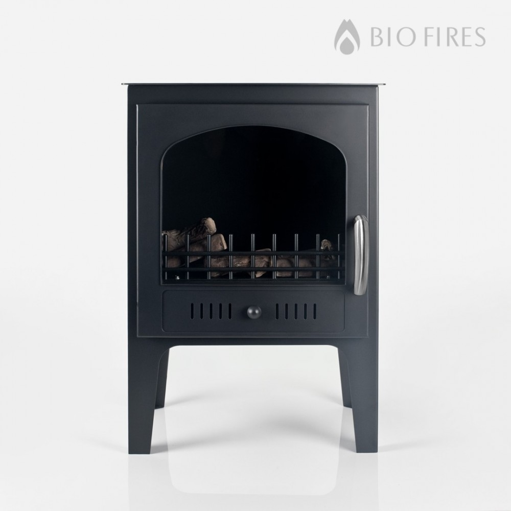 Bio Fuel Fires >> Wood Burner Style Traditional Bioethanol Stove