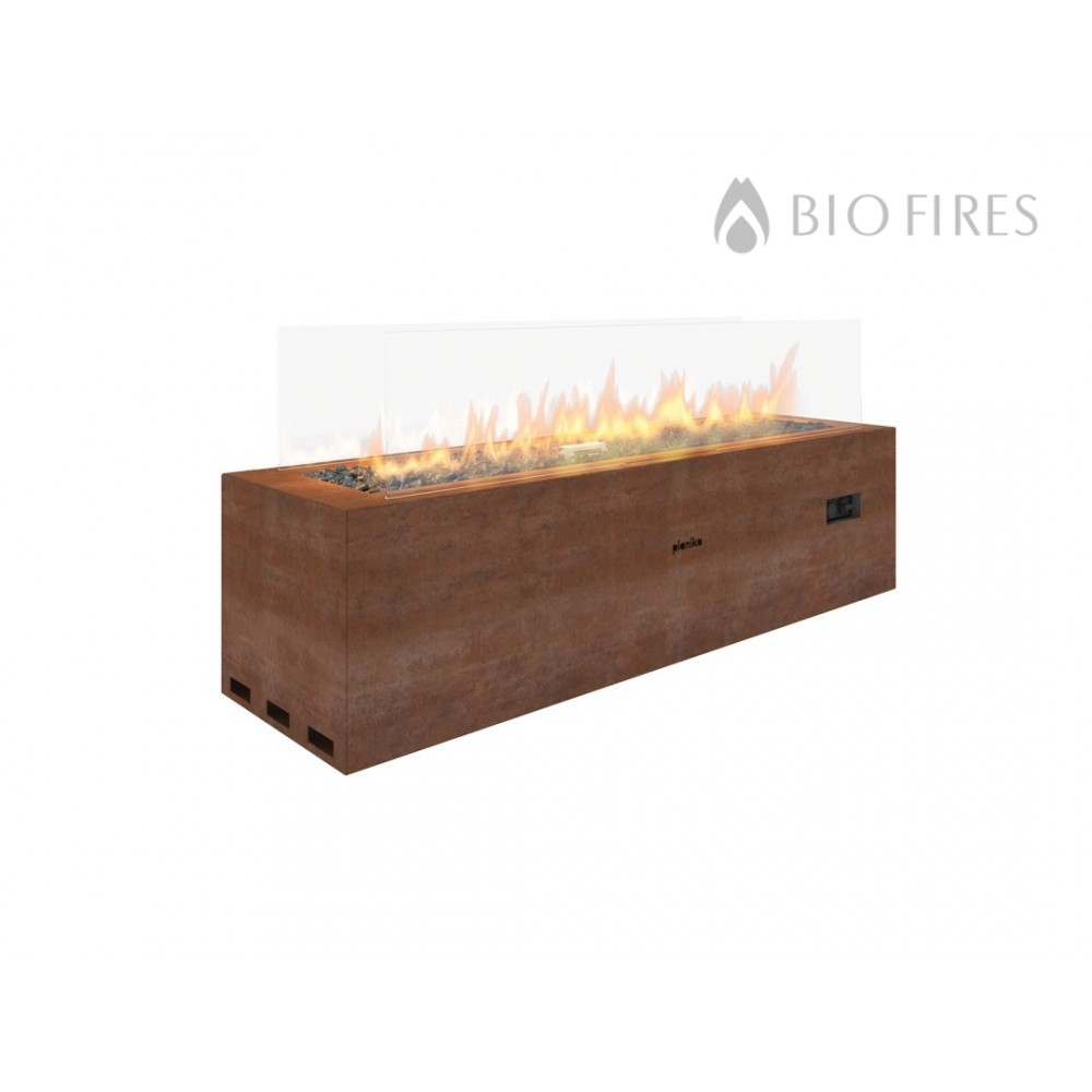 galio outdoor gas linear fireplace