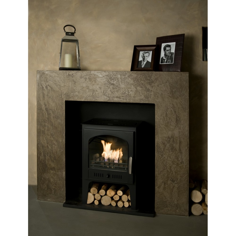 Wood Burner Style Traditional Bioethanol Stove