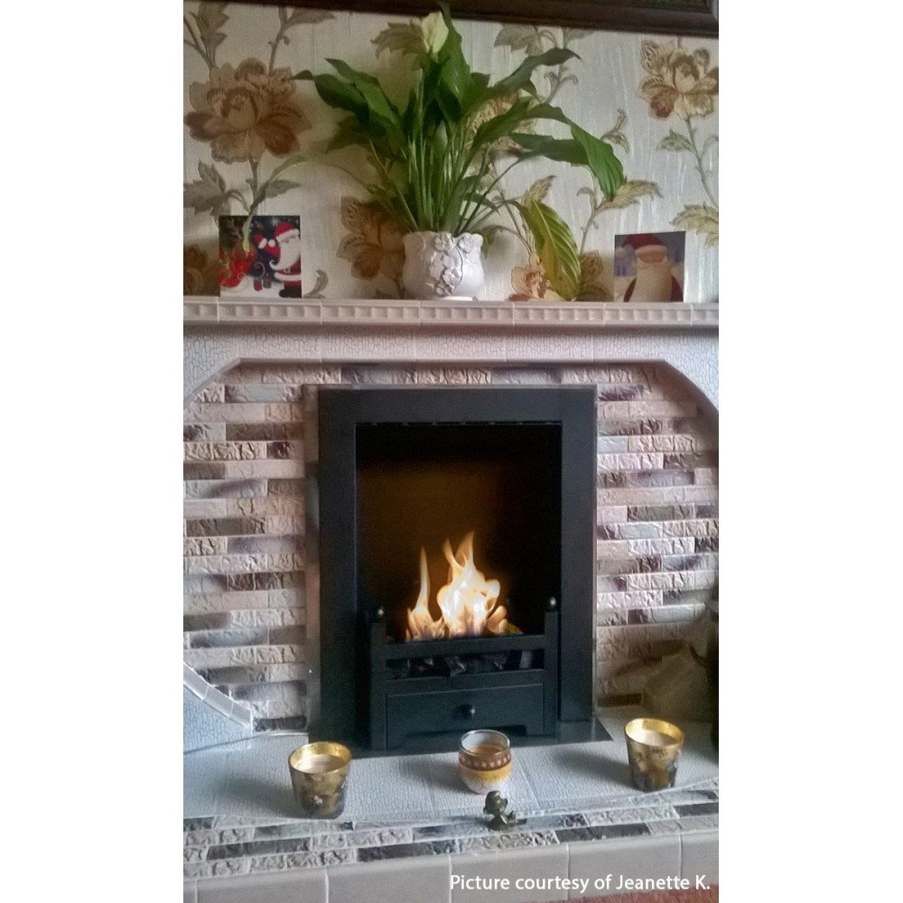 Diy Fireplace With Electric Insert
