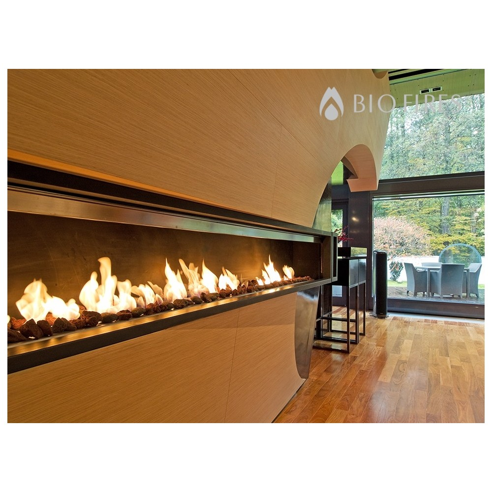 fire line automatic 3 remote control by planika bio fires gel