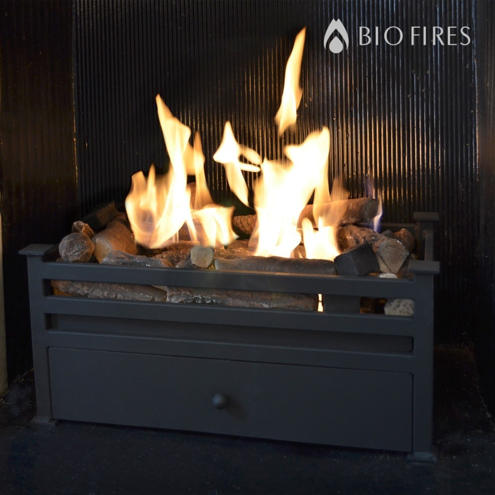 Luxury Montagu Traditional Bio Ethanol Fire Grate Bio