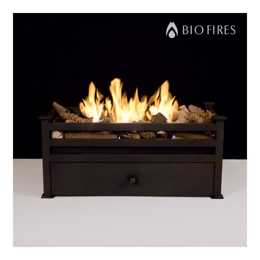 Luxury Montagu Traditional Bio Ethanol Fire Grate - Bio Fires (Gel ...