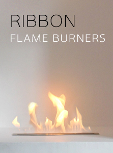 Ribbon Flame Burners